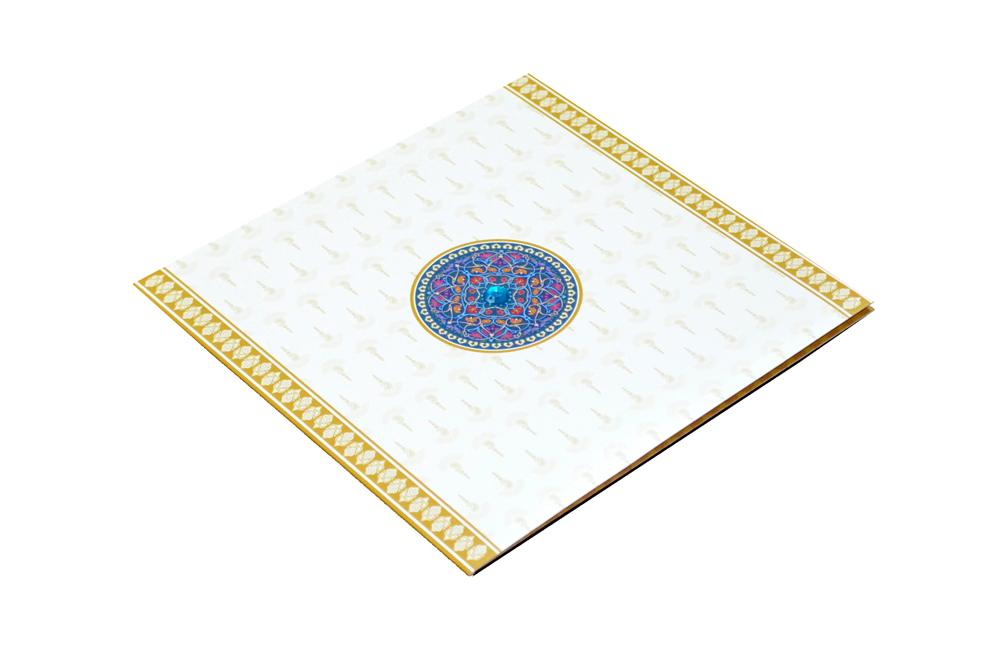 Designer Wedding Card RN 1849 Card