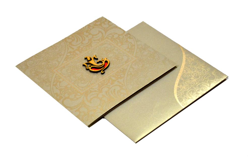 Hindu Wedding Card RN 1907