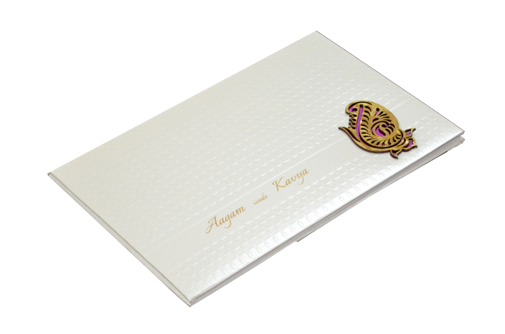Padded Wedding Card RN 1922 Card