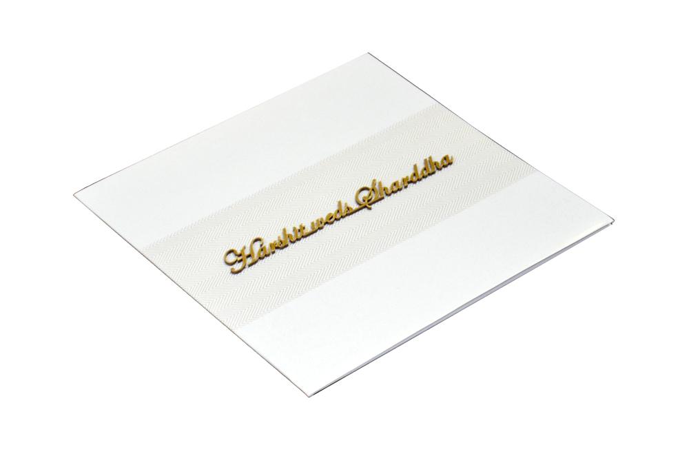 Designer Wedding Card RN 1938 Card