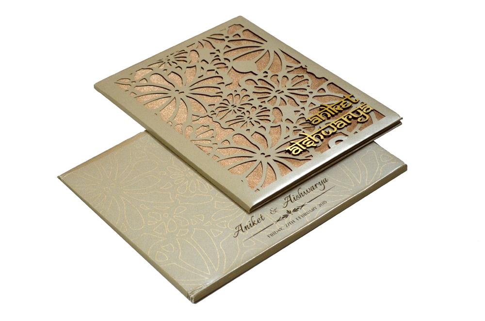 Laser Padded Wedding Card RN 1941