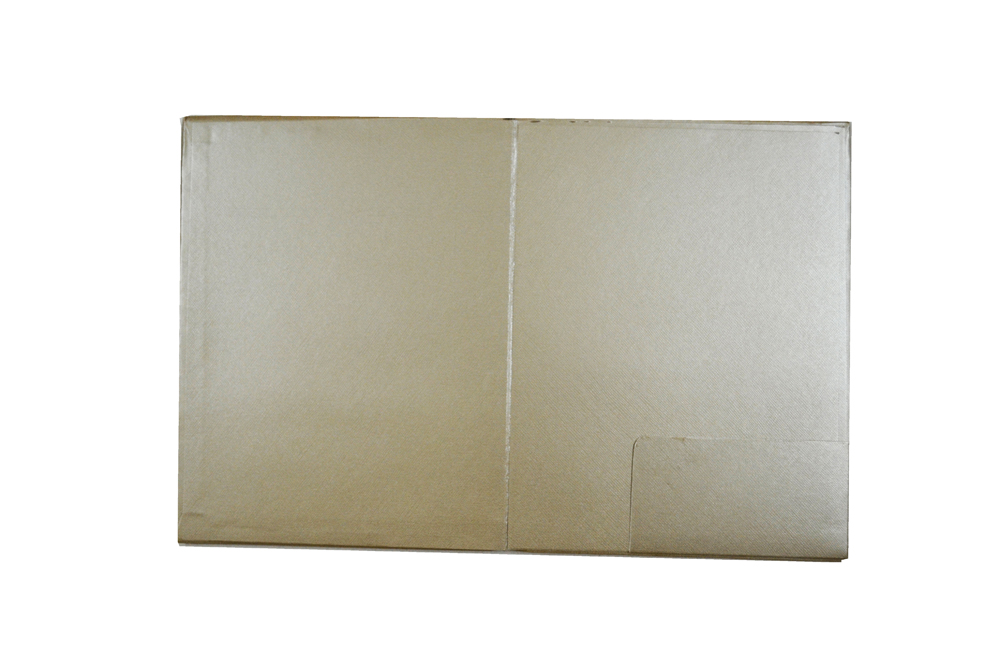 Laser Padded Wedding Card RN 1941 Top Inside View