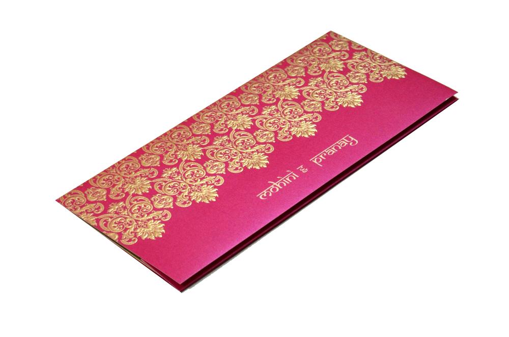 Designer Wedding Card S 9041 Card