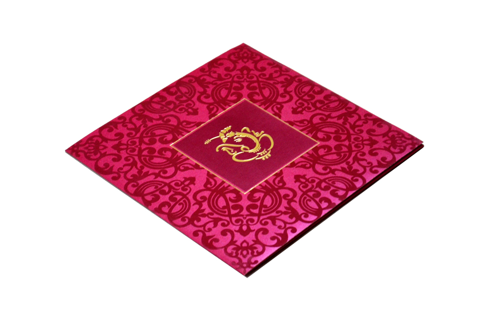Hindu Wedding Card S 9047 Card
