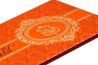 Hindu Wedding Card S 9051 Zoom View