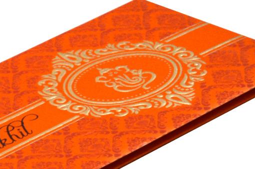 Hindu Wedding Card S 9051 Zoom View