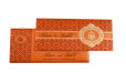 Hindu Wedding Card S 9051 Top View