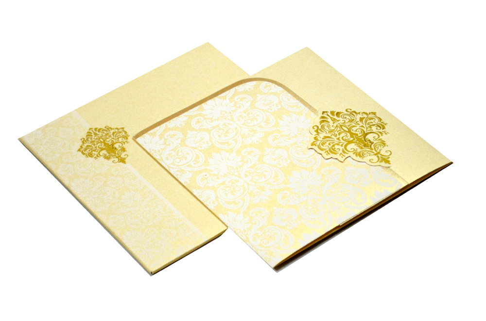 Designer Wedding Card S 9062
