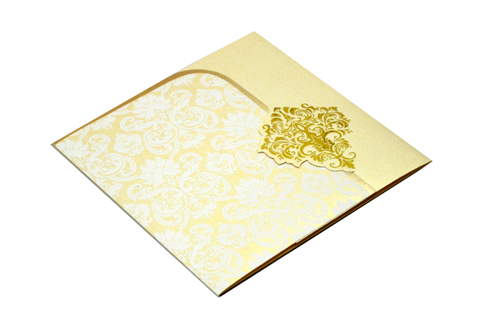 Designer Wedding Card S 9062 Card