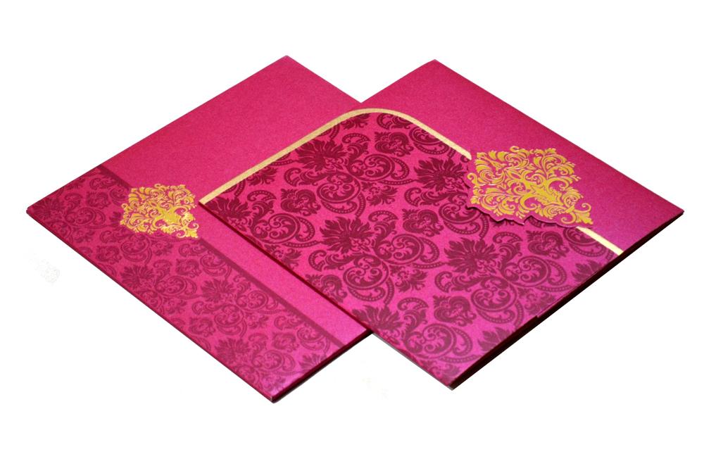 Designer Wedding Card S 9063