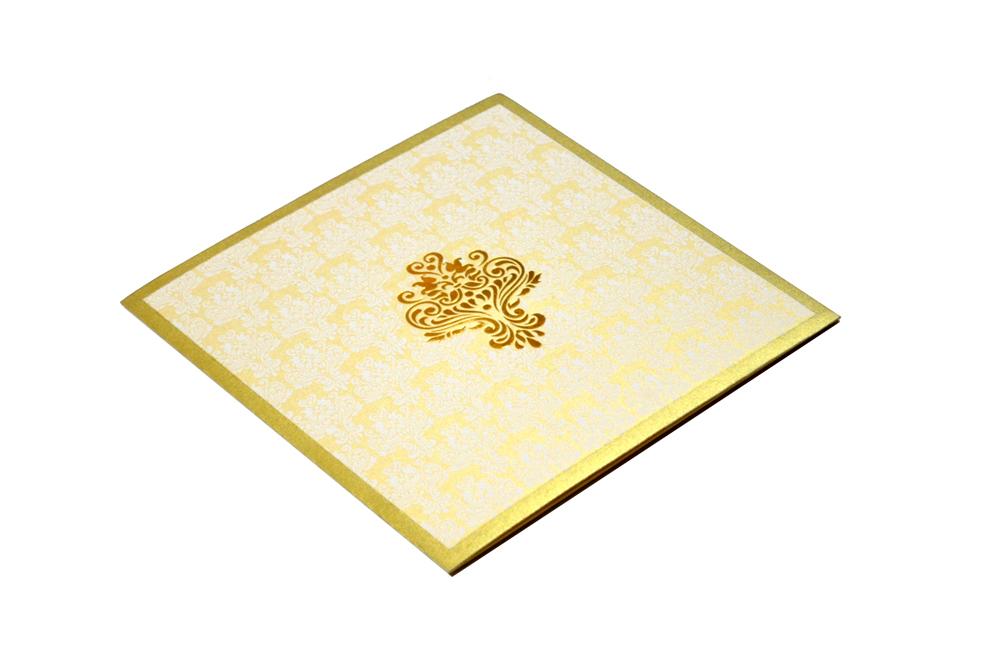 Designer Wedding Card S 9065 Card