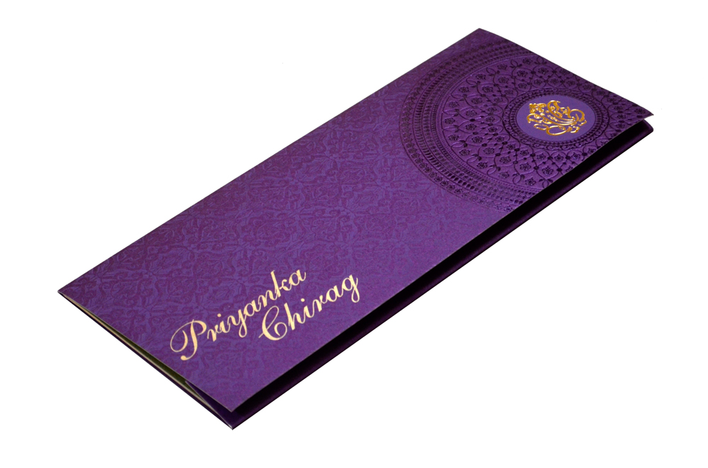 Designer Wedding Card S 9171 Card