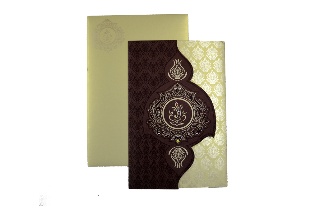 Budget Wedding Card SL 4378 Top View