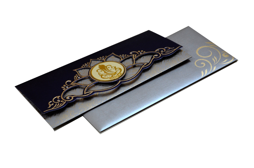 Hindu Wedding Card SL 4410