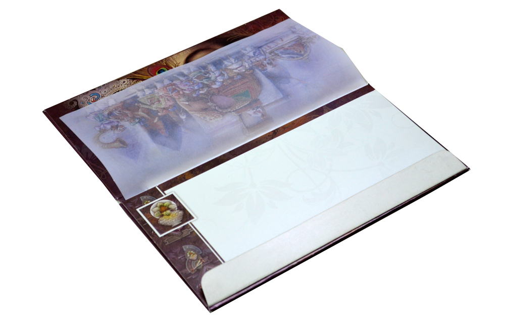 Hindu Wedding Card SL 5533 Inside View 2