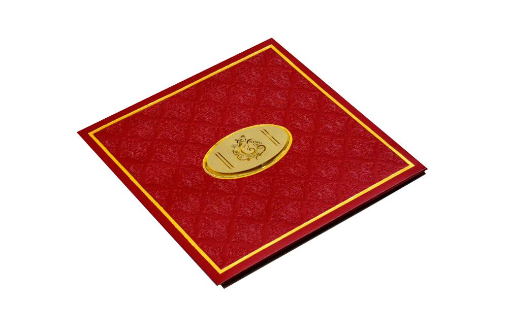 Budget Hindu Wedding Card CD 702 Card