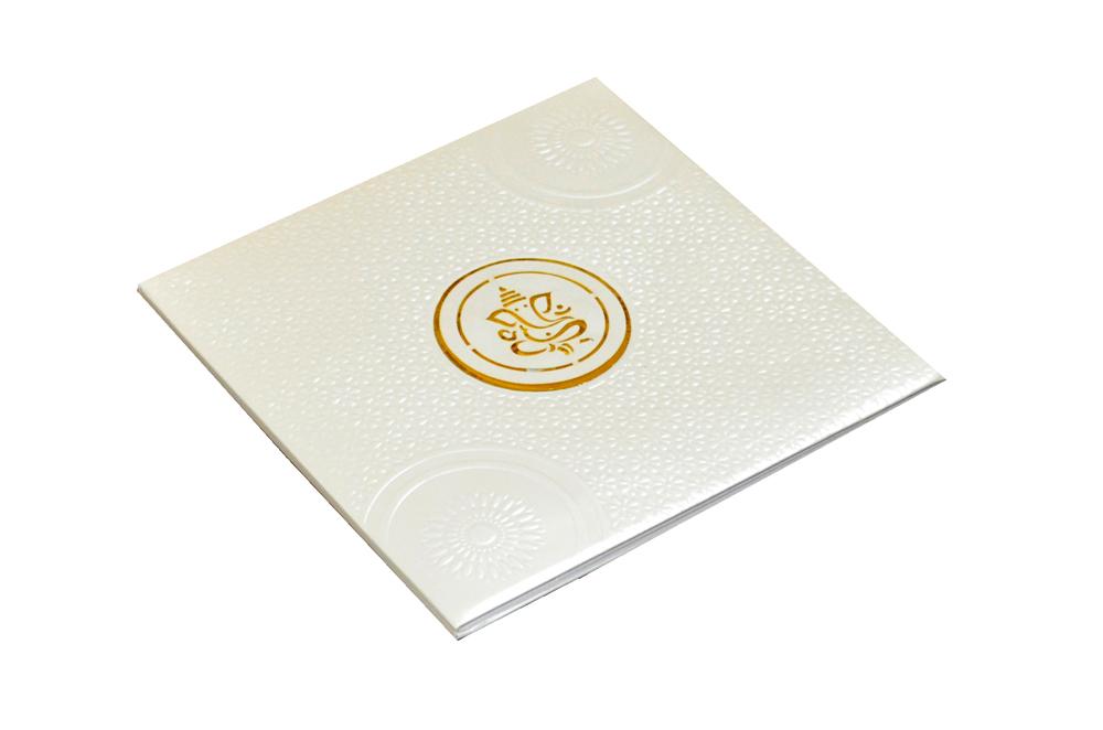 Hindu Laser Wedding Card CD 728 Card