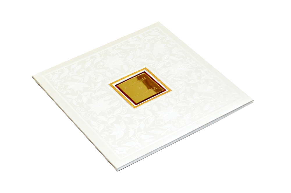 Padded Wedding Card CD 904 Card