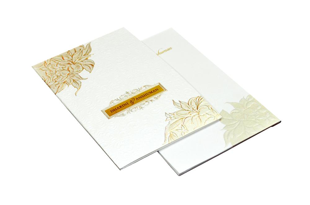 Designer Wedding Card CD 908