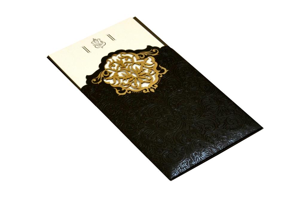 Designer Laser Wedding Card CD 921 Card