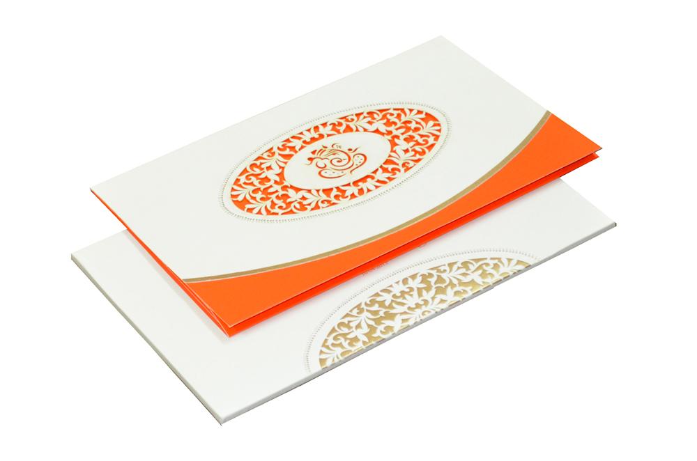 Hindu Laser Wedding Card CD 928