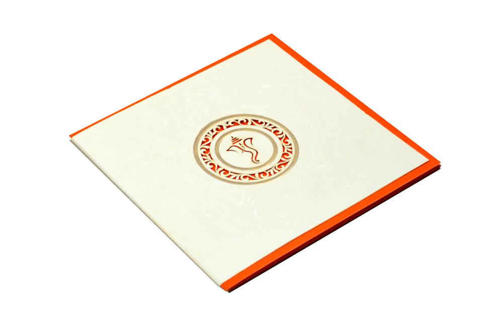 Hindu Laser Wedding Card CD 930 Card