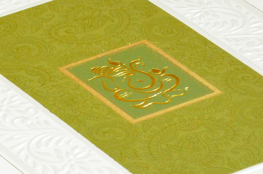 Hindu Wedding Card CD 933 Zoom View