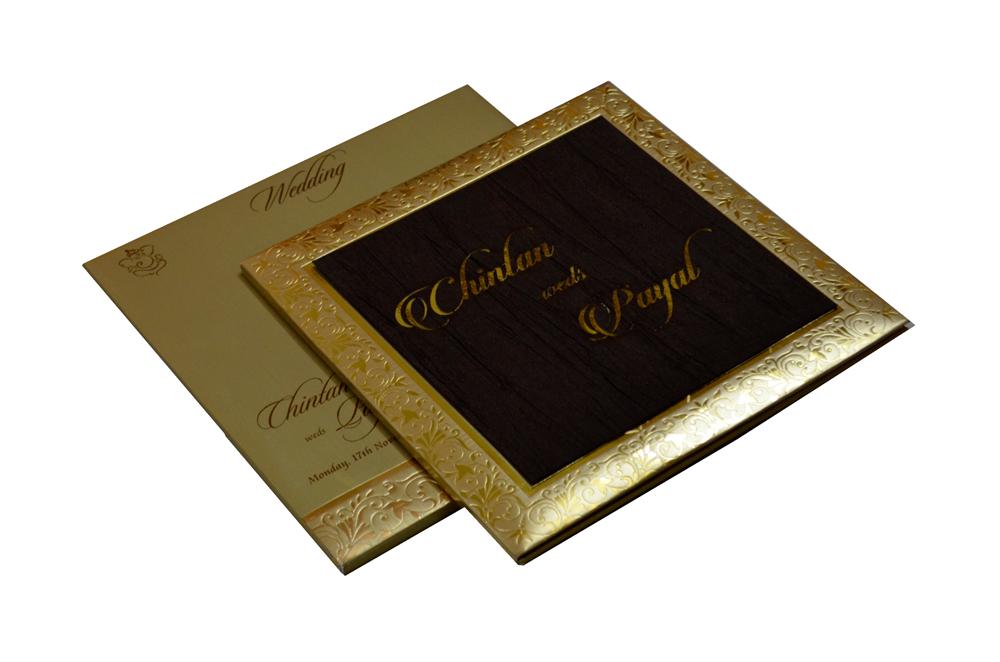 Designer Laser Cut Wedding Card CD 943