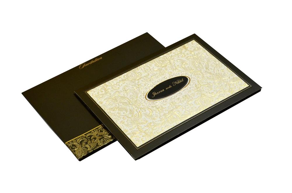 Muslim Wedding Card CD 948