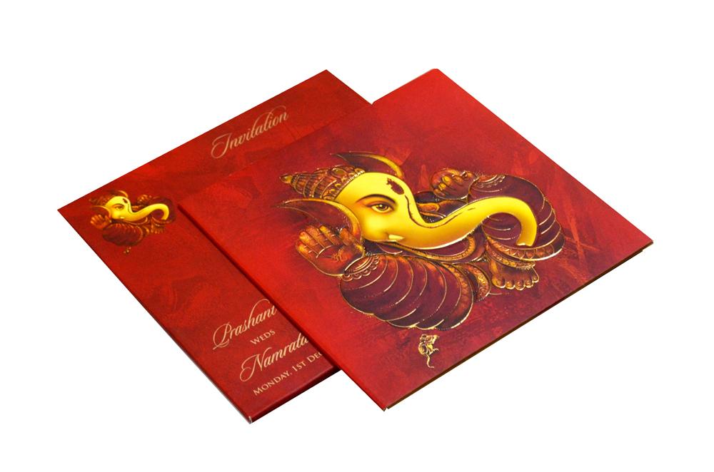 Hindu Wedding Card CD 949