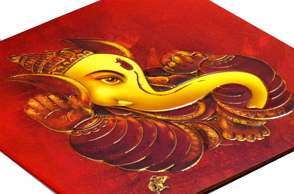 Hindu Wedding Card CD 949 Zoom View