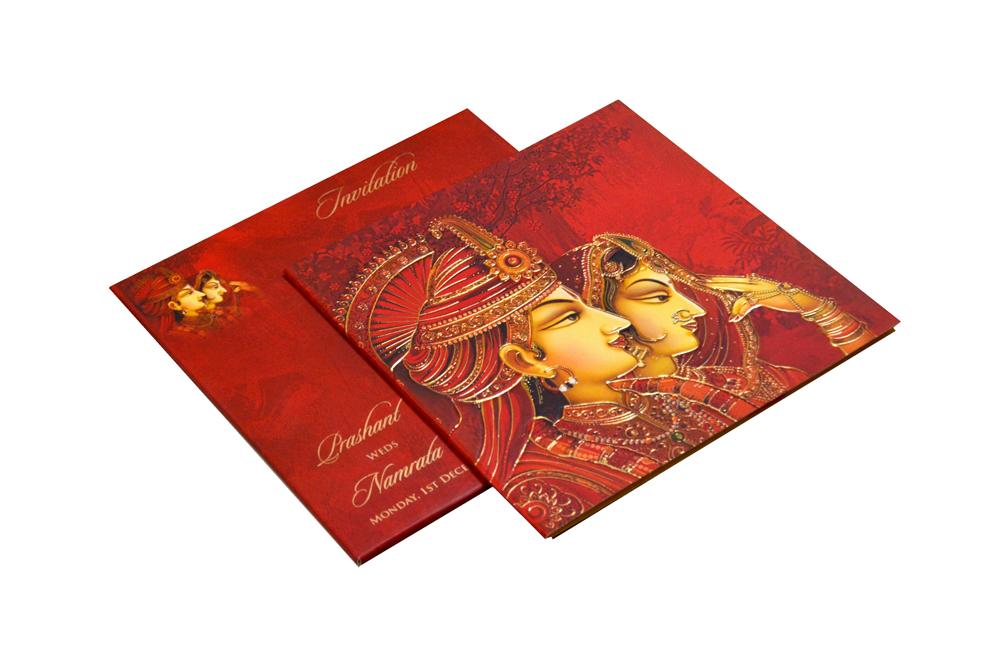 Hindu Wedding Card CD 950