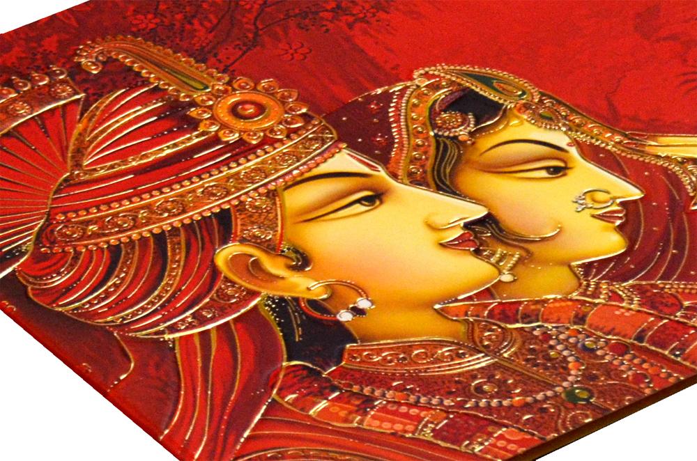 Hindu Wedding Card CD 950 Zoom View
