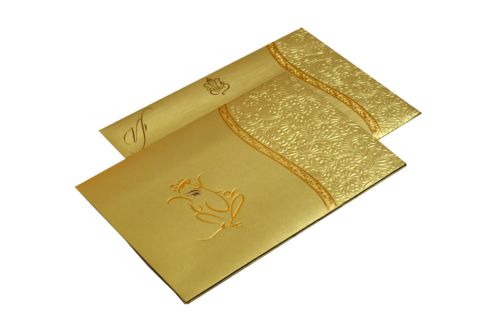 Hindu Wedding Card CD 972