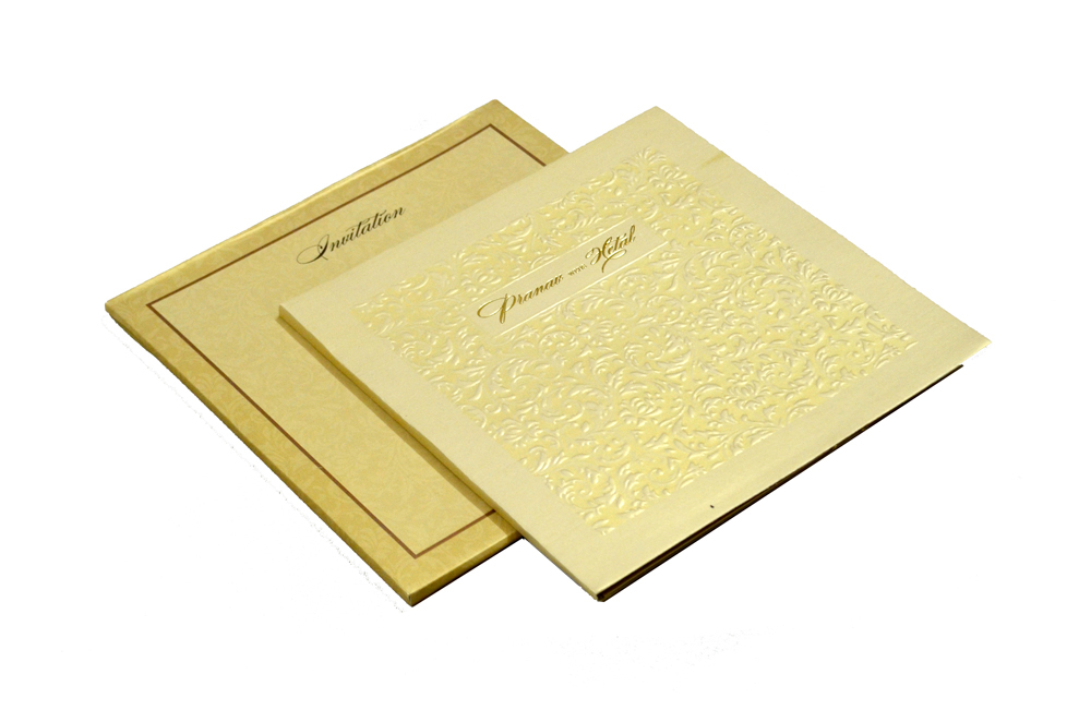 Designer Wedding Card MCC 5564