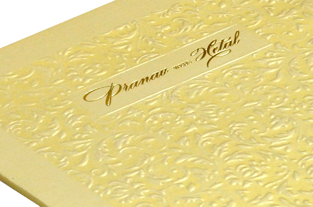 Designer Wedding Card MCC 5564 Zoom View