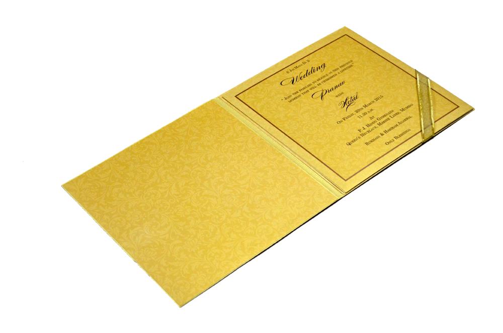 Designer Wedding Card MCC 5564 Inside View