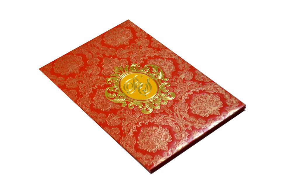 Designer Padded Wedding Card MCC 6631 Card