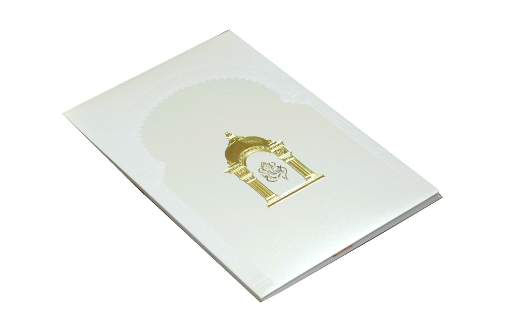 Padded Hindu Wedding Card MCC 6651 Card