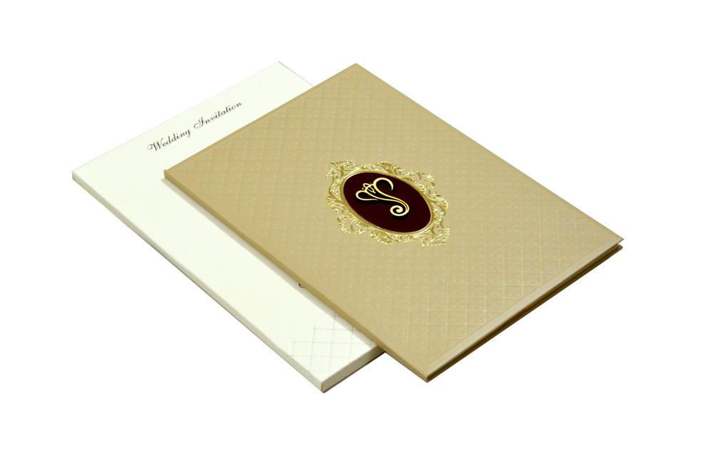 Padded Hindu Wedding Card MCC 6660