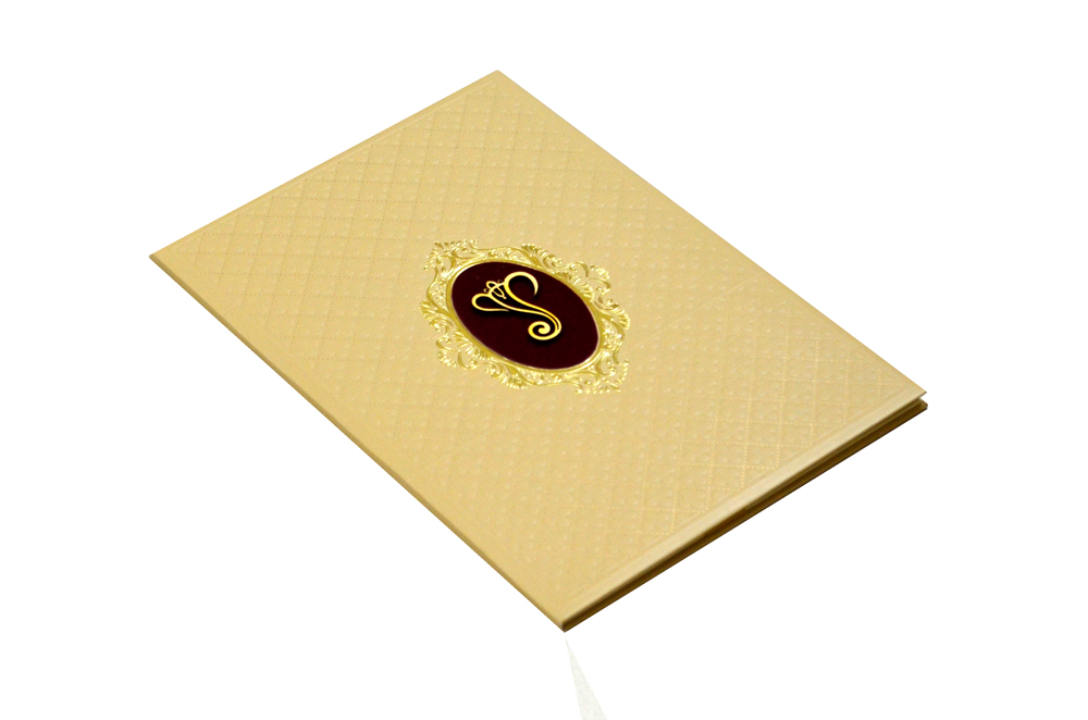 Padded Hindu Wedding Card MCC 6660 Card