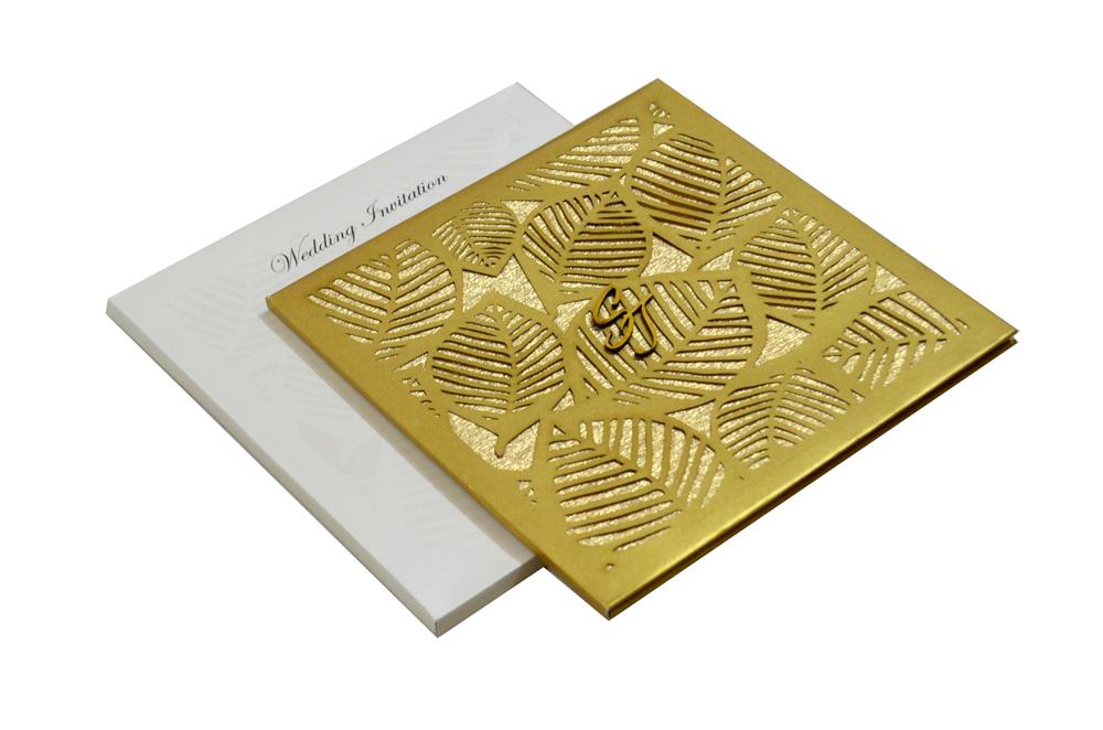 Designer Laser Cut Wedding Card MCC 6664