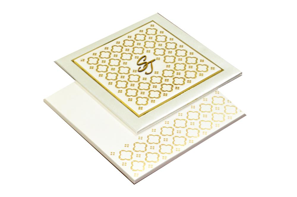 Designer Laser Cut Wedding Card MCC 6665