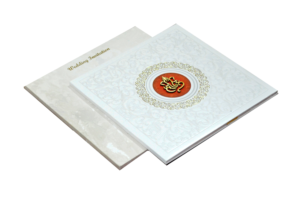 Hindu Padded Wedding Card MCC 6671