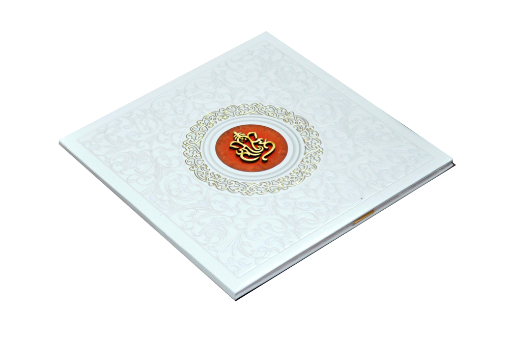 Hindu Padded Wedding Card MCC 6671 Card