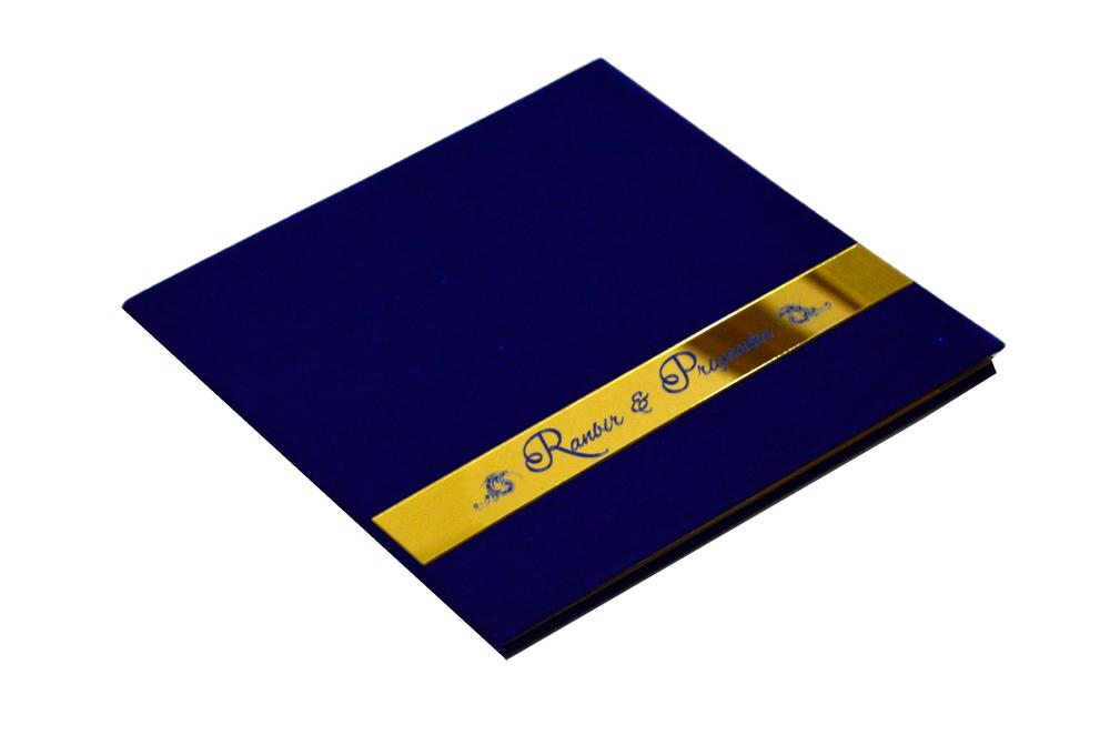 Blue Velvet Designer Card PP 8129 Card