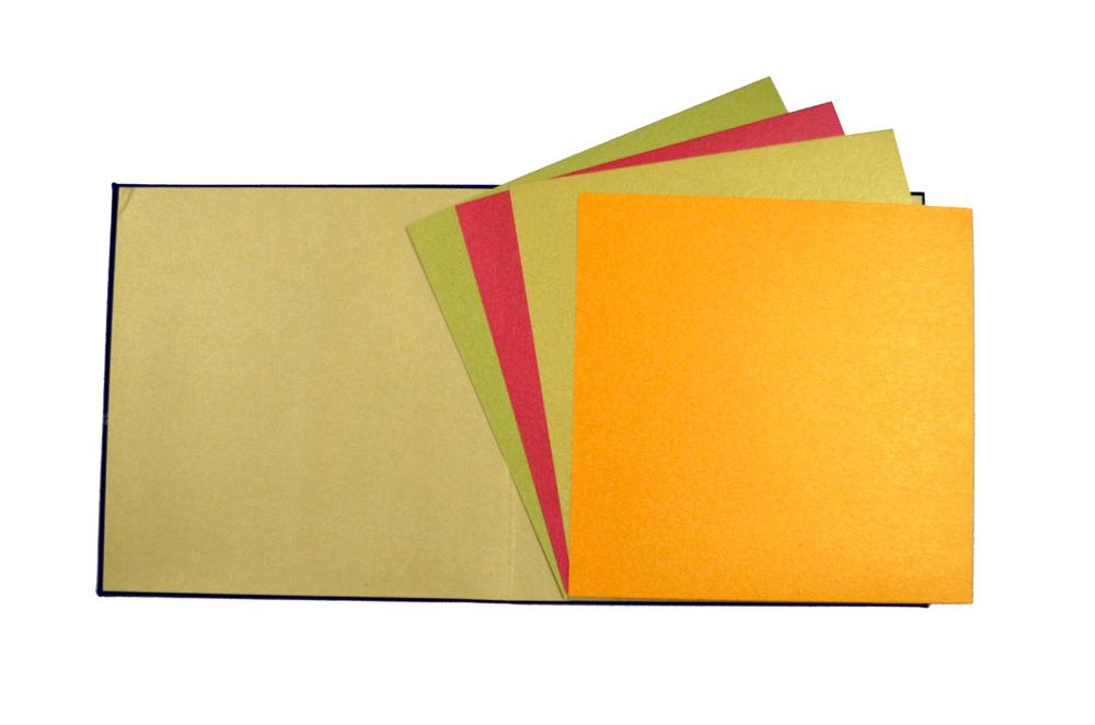 Blue Velvet Designer Card PP 8129 Top Inside View
