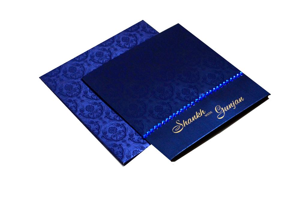 Blue Designer Card PP 8172