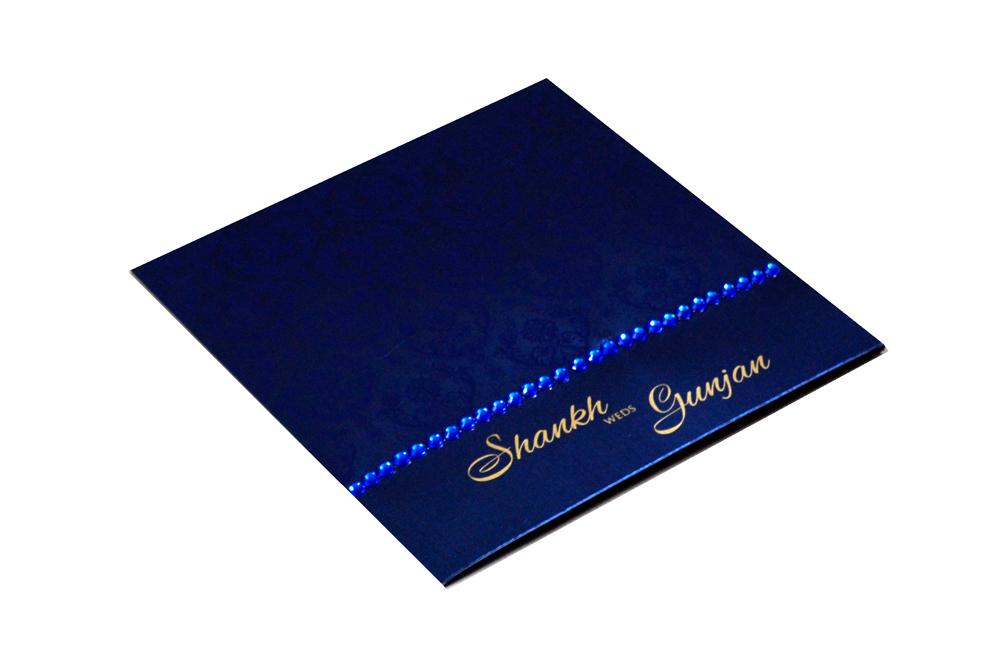 Blue Designer Card PP 8172 Card