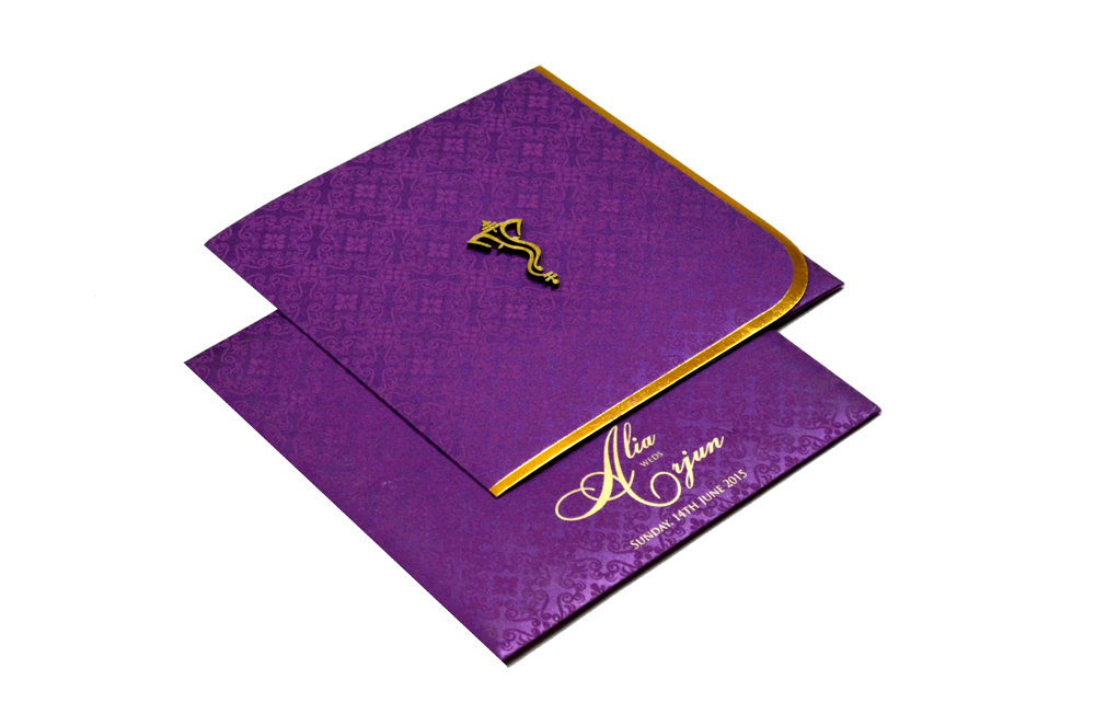 Hindu Wedding Card PP 8178